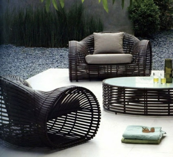 25 Outdoor Rattan Furniture – Lounge furniture from rattan
