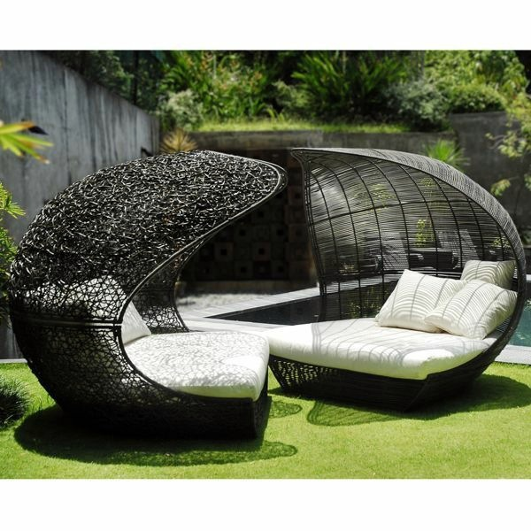 25 outdoor rattan furniture – lounge furniture from rattan and, Gartenarbeit ideen