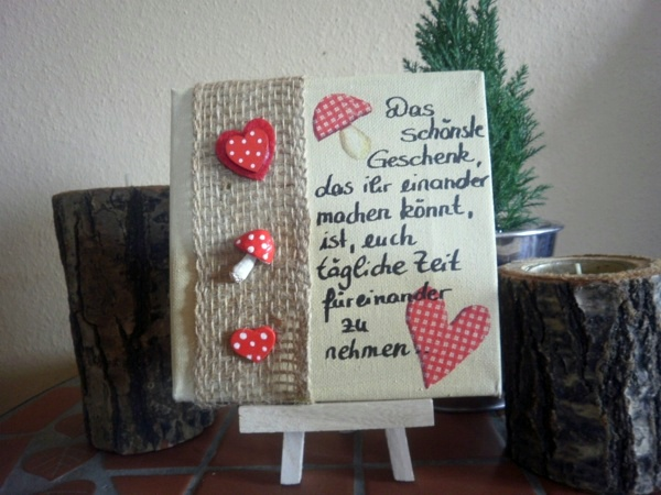 Five great canvases for valentine 39 s day interior design ideas avso org - Leinwand selbst gestalten mit text ...