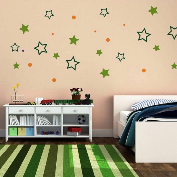 ... Bedroom Wall Design   Thematic Bedroom Design And Wall Decoration