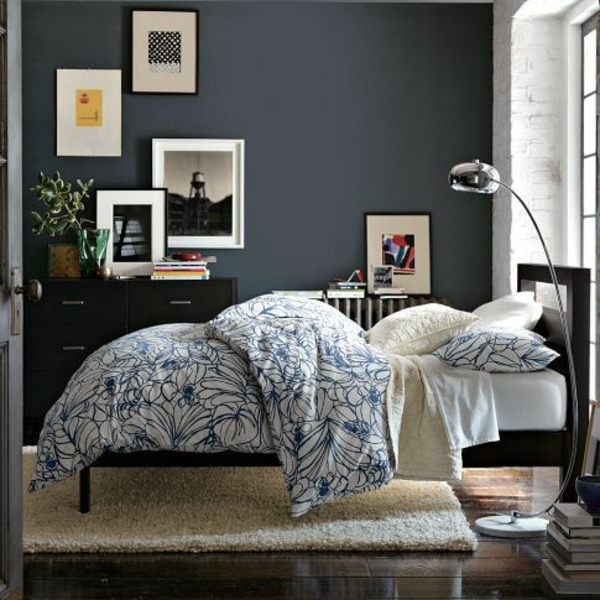 Bedroom wall design thematic bedroom design and wall for Bedroom inspiration west elm