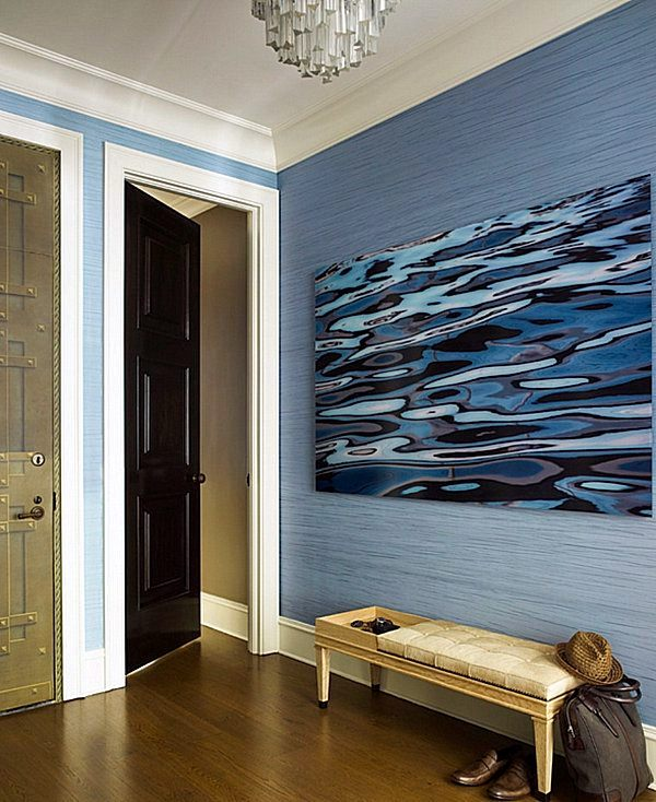 Decorating ideas and wall design in the hallway of your home ...
