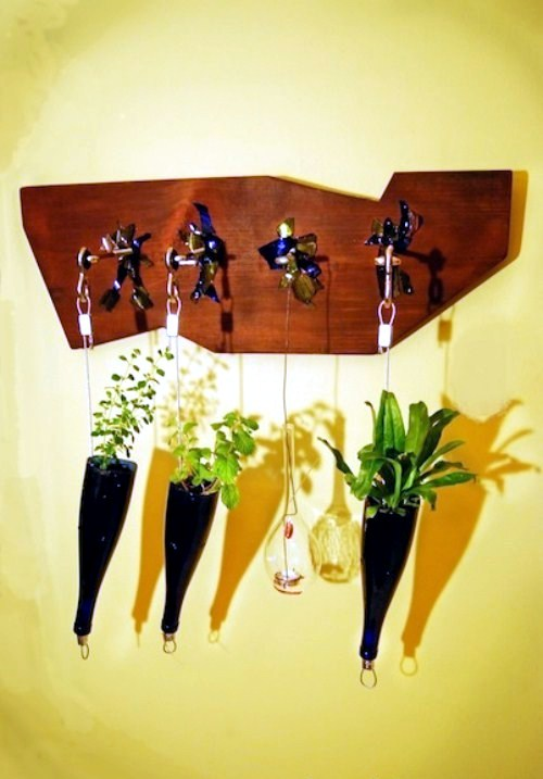 Decoration made from recycled materials for an eco friendly interior interior design ideas - Recycled interior design ideas ...