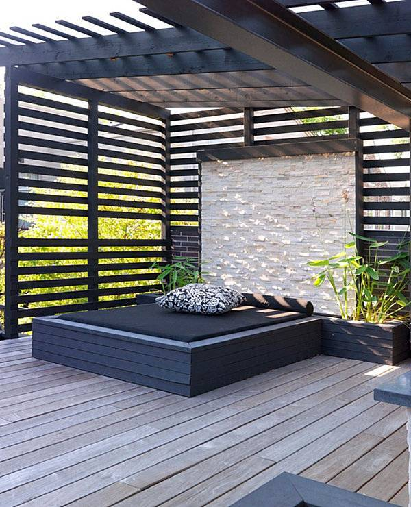 Modern terrace design cool lounge furniture outdoor for Terrace design
