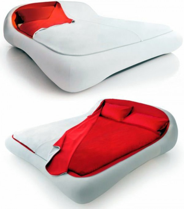 Ergonomic padded bed with frame Modern Italian designer furniture   the  right aesthetics to home. Modern Italian designer furniture   the right aesthetics to home