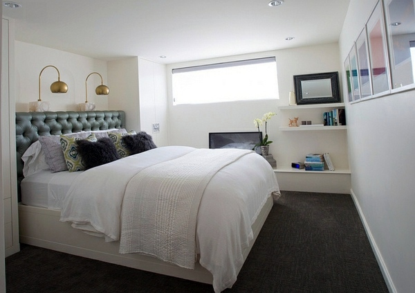 Setting cozy bedroom in the basement interior design for 12x12 bedroom interior design
