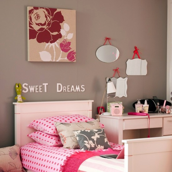 sweet dreams dear children color ideas for kids create a cool kids room design - Childrens Pictures To Colour In