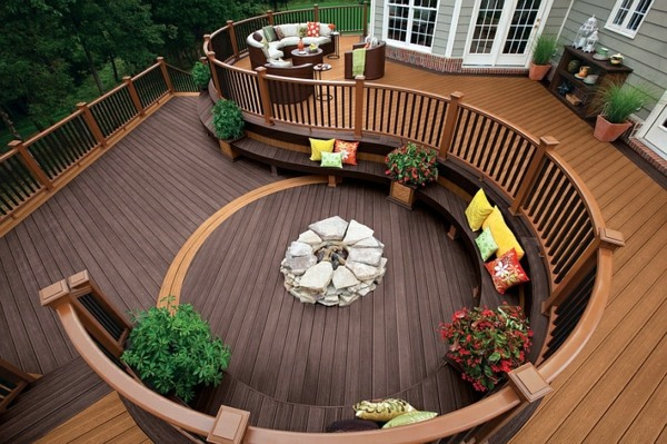 Spiral Staircase Wood Lounge Gartenmöbel Sitting Areas In The Garden Stylish Earance Of Your Home