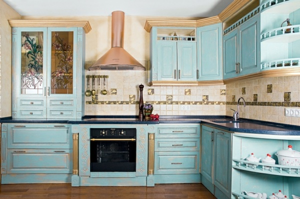 Gold Ornaments On Top Kitchen Cabinets Suitable Gorgeous Design Country Style For Your Home