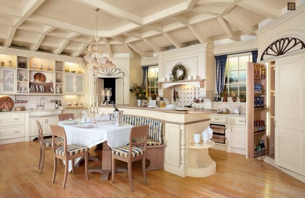 Suitable gorgeous kitchen design country style for your for Country francese arredamento