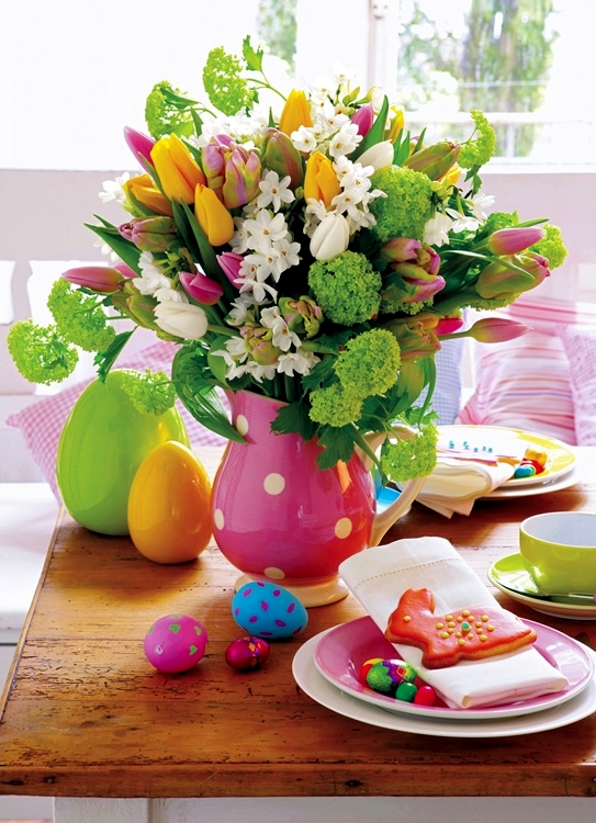 Table Decoration For Easter Interior Design Ideas AVSOORG