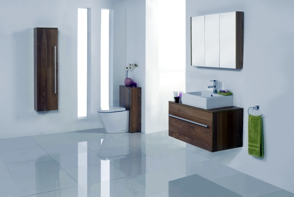 Spa bathroom fittings create a relaxing atmosphere for Creating a spa bathroom