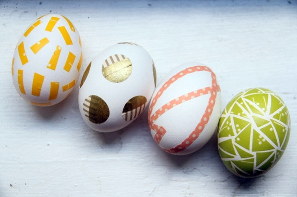 Selber machen - Selected paint Easter eggs - Easter Decor DIY