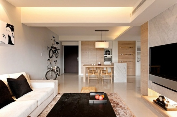 Modern minimalist decor ideas comfortable facilities for Deco minimaliste design