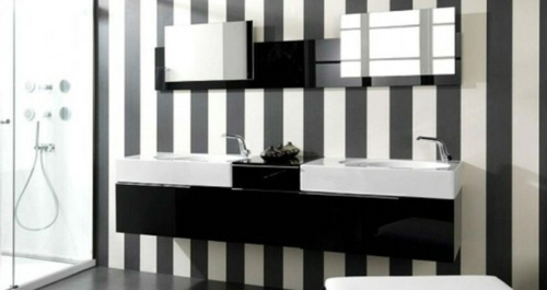 21 unusual ideas wallpaper in the bathroom stylish and refreshing