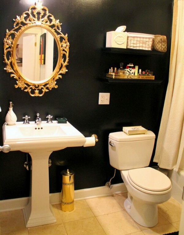 Mirror In The Bathroom #26: ... Dark Spots On The Mirror In The Bathroom And How To Avoid Them