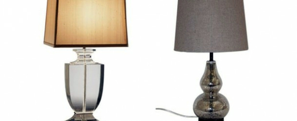 Contemporary Table Lamps Made Of Glass Wonderful Lighting At Home