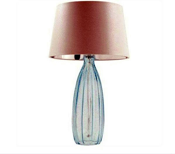 Einrichtungsideen contemporary table lamps made of glass wonderful lighting at home