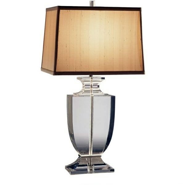 Perfect ... Contemporary Table Lamps Made Of Glass   Wonderful Lighting At Home