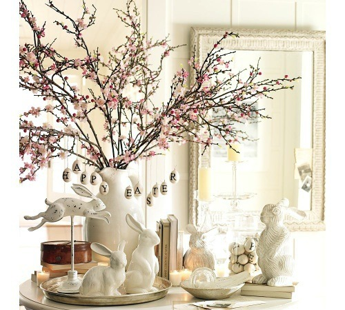 25 simple easter decoration ideas at the last minute - Easter Decorating Ideas