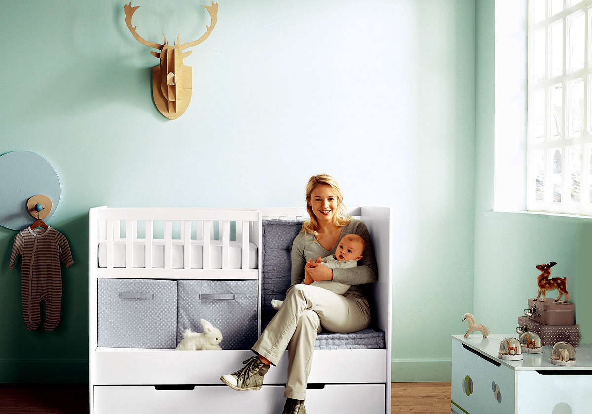 Baby room ideas for small apartment practical interior for Nursery room ideas for small rooms