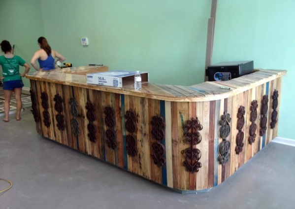 Pallet Furniture Interior Design ~ Pallets of furniture beautiful craft and interior