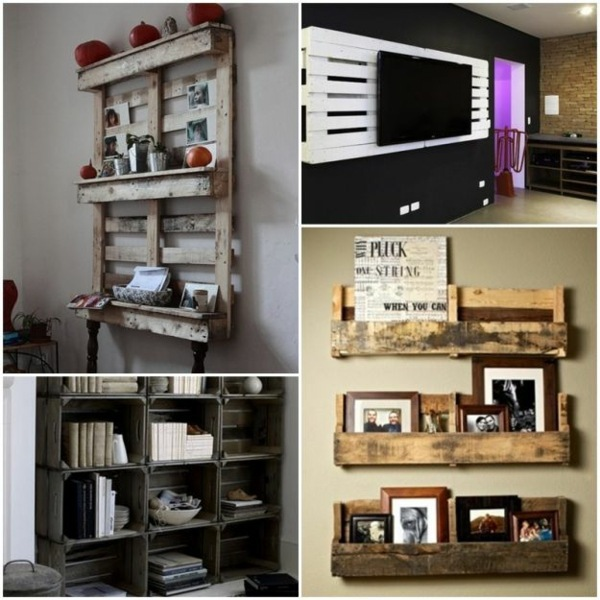 70 pallets of furniture ? beautiful craft and interior design ... - Wohnideen Von Europaletten