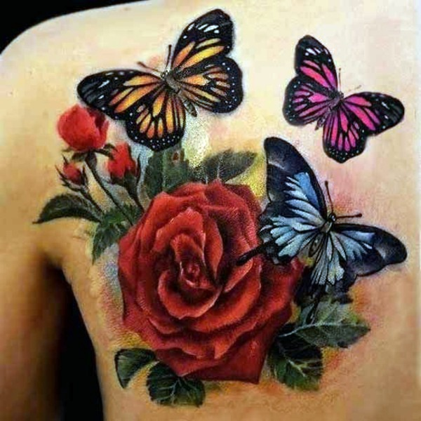 Butterfly tattoo meaning – beautiful and useful   Interior Design