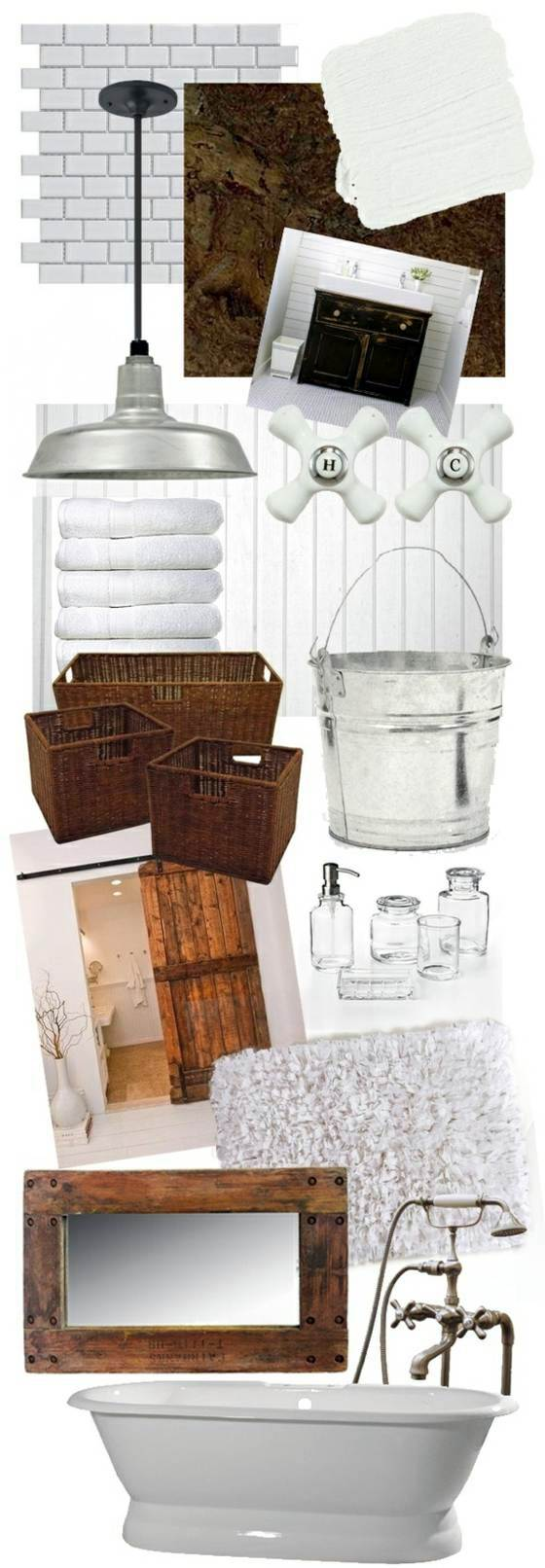 Rustic Bathroom Ideas – Would you set up your bathroom in a country ...