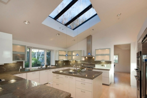 How To Bring More Light Into The House Roof Window At