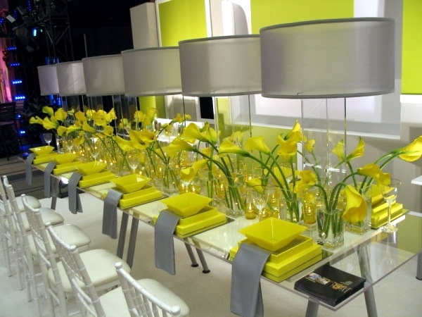 Beautiful decorating ideas for extravagant wedding decoration bright green and yellow colors gay beautiful decorating ideas for extravagant wedding decoration junglespirit Choice Image
