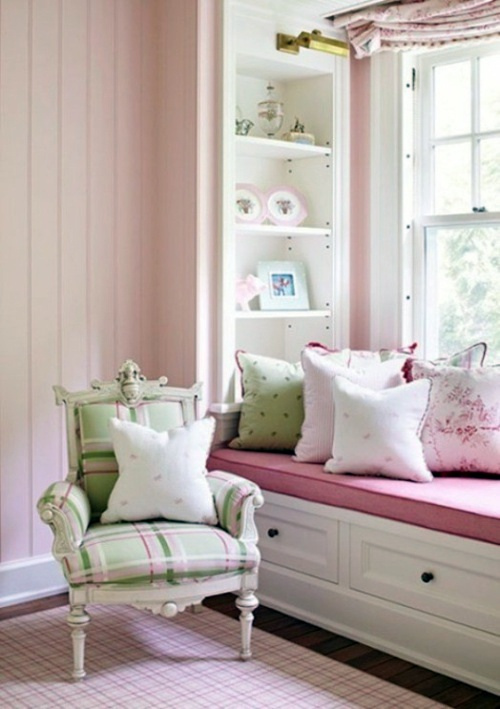 15 great ideas to transform the window seat in the nursery for Sitting area ideas