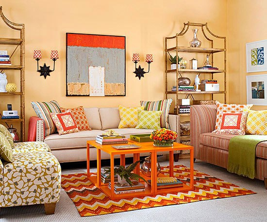 How to set up your living room multifunctional | Interior Design ...