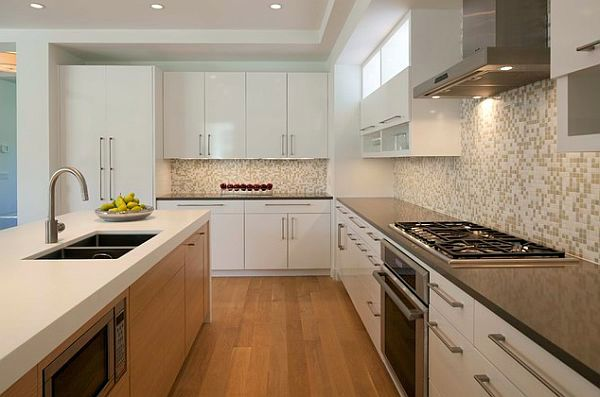 Kitchen Design Handles designer kitchen cabinets – choose the right buttons and handles