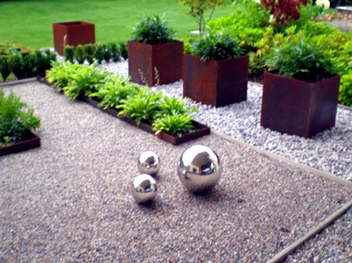 Create A Zen Garden Front Design With Gravel