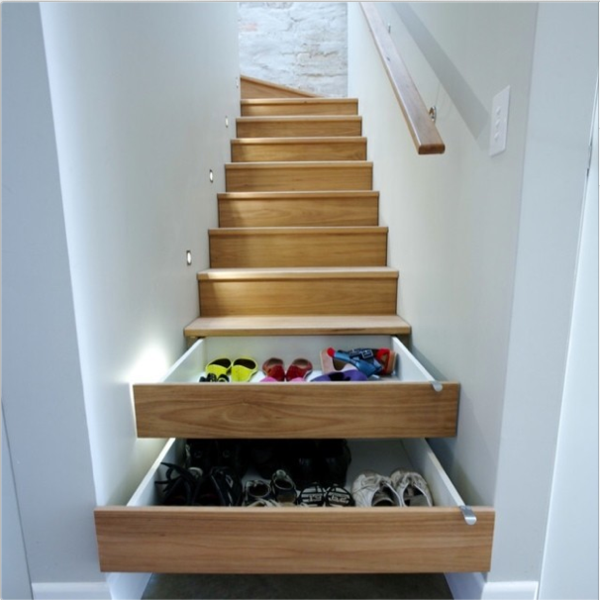 Moderne Architektur   Created By Stairs Drawers Plenty Of Storage Space    Stairs In The Trend