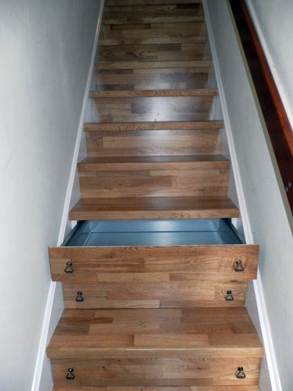 Created By Stairs Drawers Plenty Of Storage Space