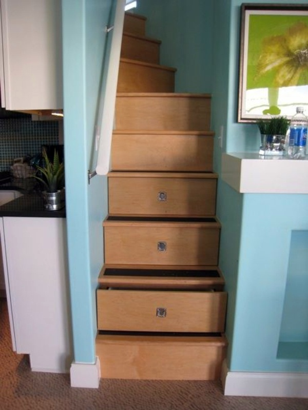 Created By Stairs Drawers Plenty Of Storage Space Stairs