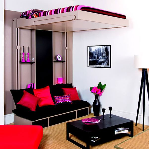 Small Room Seating Ideas Part - 31: ... Small Bedroom Creative Gestalten- 45 Ideas For The Modern Home Owner