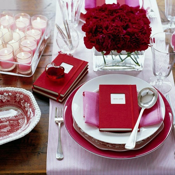 22 ideas for valentine 39 s day decoration at home interior for Valentine day at home