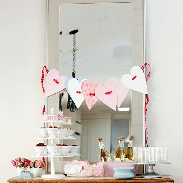 22 Ideas for Valentine\'s Day decoration at home | Interior Design ...