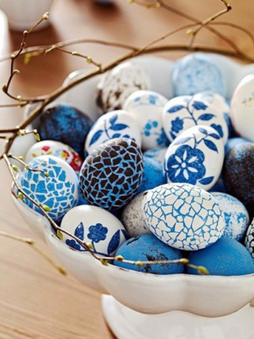 some ideas for beautiful easter eggs | interior design ideas