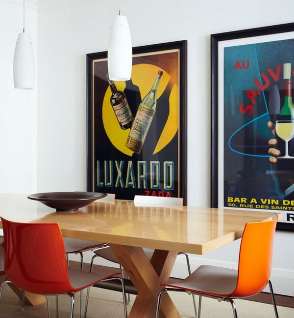 30 Ideas For Decorating Wall With Posters A Vintage