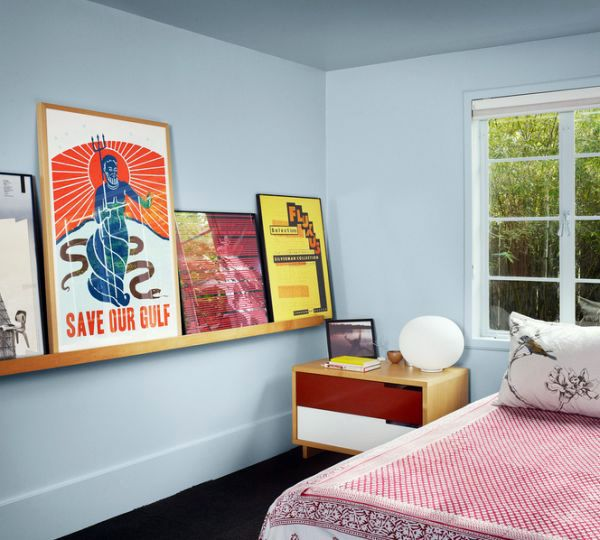 30 ideas for decorating wall with posters a vintage for Poster decoration ideas
