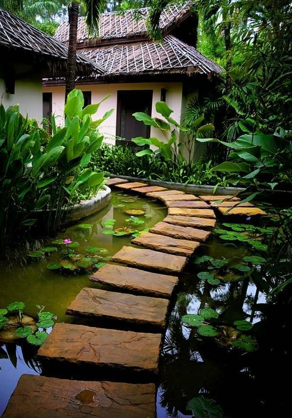 Garden design ideas photos for garden decor interior for Japanese decking garden