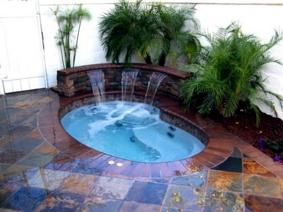 Jacuzzi in the garden interior design ideas avso org - Whirlpool eigenbau ...