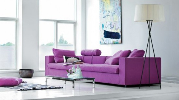 Try purple color scheme for the residential facility & Try purple color scheme for the residential facility | Interior ...