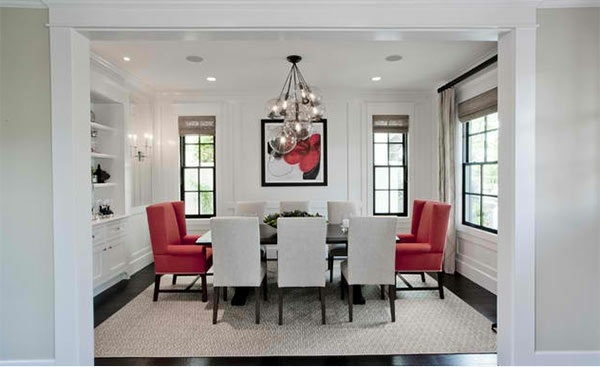 Spinnaker Development 15 Gorgeous Dining Room In Red White And Black