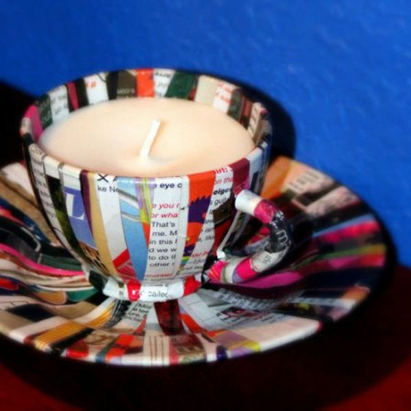 20 creative decorating ideas for mother of cups bowls and for Cup decorating ideas
