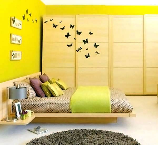 Wall colors in the bedroom, jump immediately apparent | Interior ...